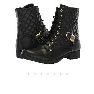 Guess Black boots combat